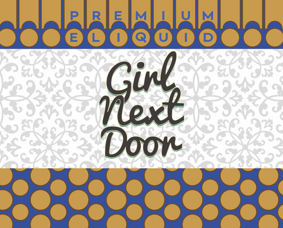 Girl Next Door E-Liquid by Blue Vapes E-Liquid - Blue Vapes Canada