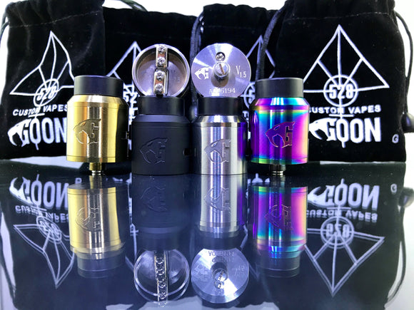 Goon V1.5 Styled RDA Rebuildable Drip Atomizers - Blue Vapes Canada