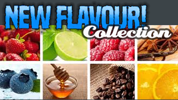 New Flavours 30ml Sampler Pack - by Blue Vapes E-Liquid - Blue Vapes Canada