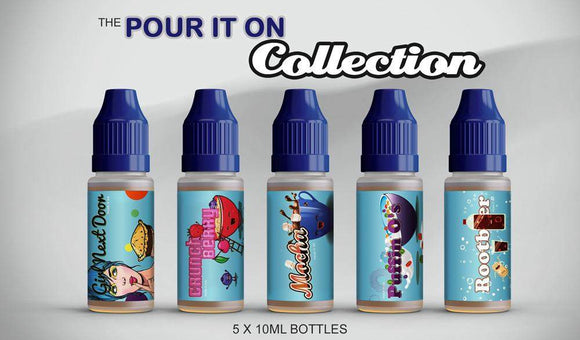 Pour It On Collection 50ml Sampler Pack - by Blue Vapes E-Liquid - Blue Vapes Canada