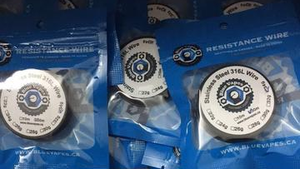 Stainless Steel Wire by Blue Vapes Wire - Blue Vapes Canada