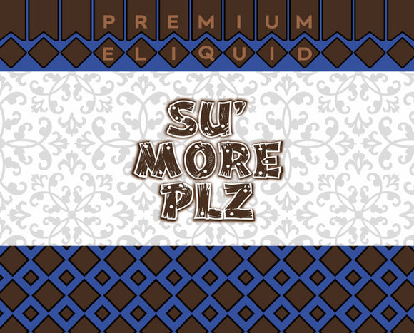Su' More Plz E-Liquid by Blue Vapes E-Liquid - Blue Vapes Canada