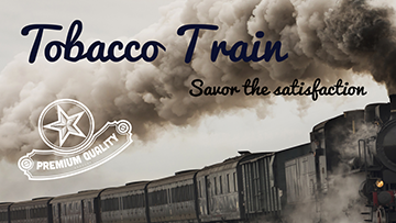 Tobacco Train Collection 30ml Sampler Pack - by Blue Vapes E-Liquid - Blue Vapes Canada