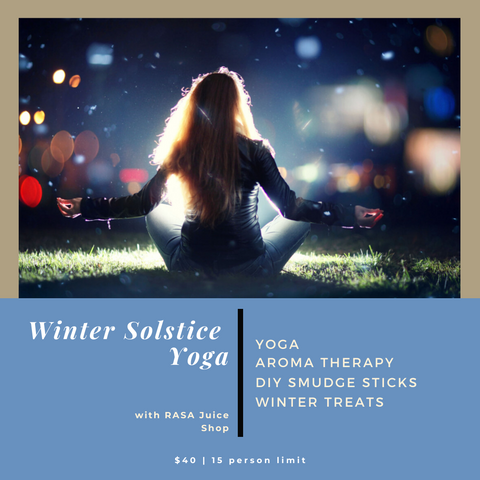 winter solstice yoga retreat in Annapolis, best juice cleanse in Annapolis