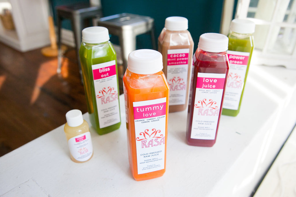 Annapolis juice cleanse, juice bar, raw juice, annapolis juice bar, RASA juice Annapolis, juice store