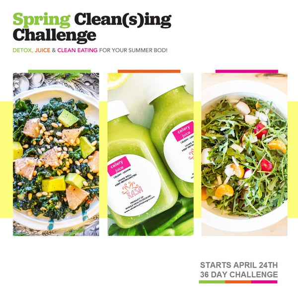 Spring Clean(s)ing Challenge Package