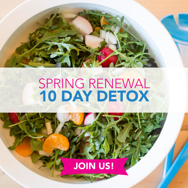 Spring Renewal 10 Day Detox Catered Meals