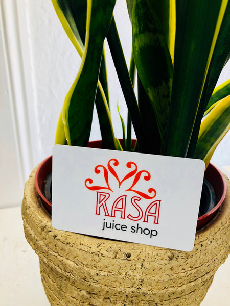 RASA juice shop Gift Card