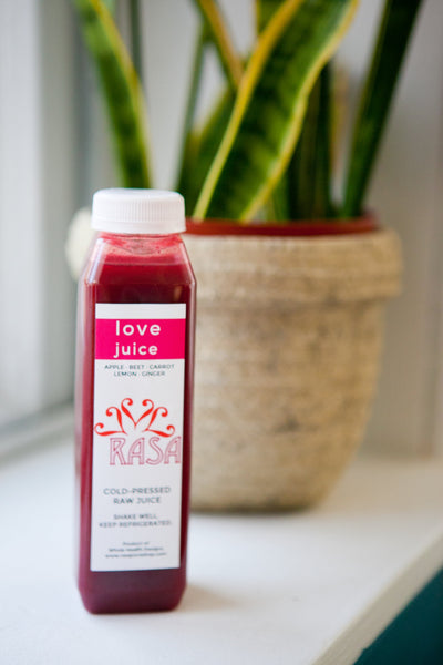 RASA Love juice with beets