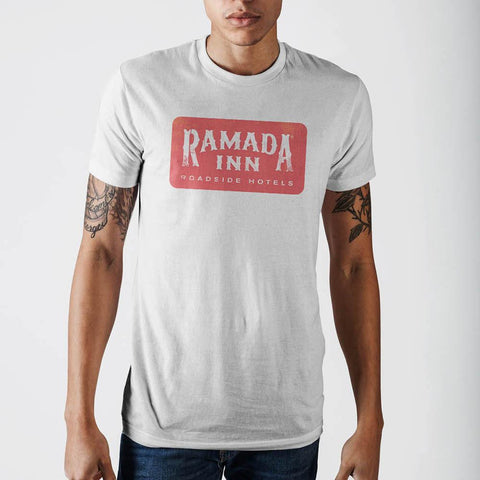 Ramada Inn White T-Shirt