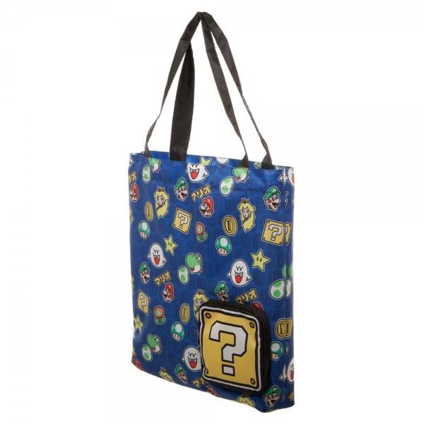 Super Mario Brothers Packable Tote