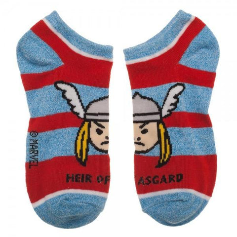 Marvel Thor Youth 3 Pack Ankle Socks