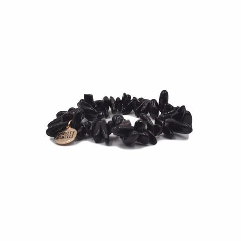 Kinsley Armelle Chip Collection - Coal Party Bracelet with Gold Accent