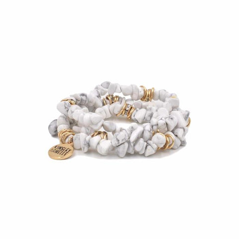 Kinsley Armelle Cluster Collection - Pepper Bracelet