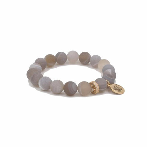 Kinsley Armelle Eternity Collection - Cinder Bracelet