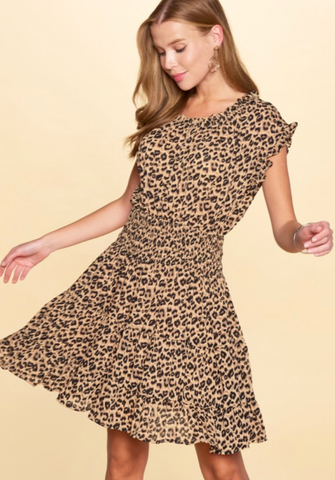 Wild Weekend Leopard Dress