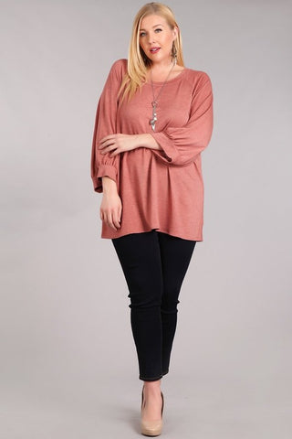 Stay Here Forever Curvy Top