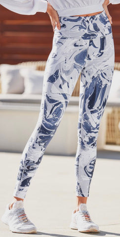 Abstract Palette High Waist Leggings