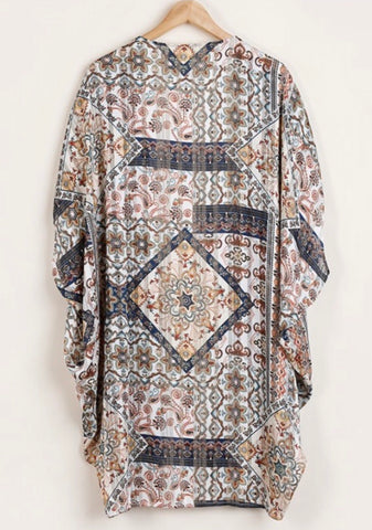 Wanna Be With You Curvy Kimono