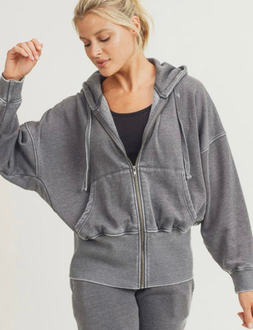 Hot On The Trail Fleece Hoodie Jacket