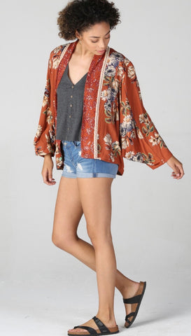Never Too Far Away Kimono