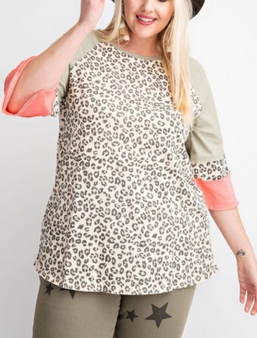 It's So Chic Leopard Top