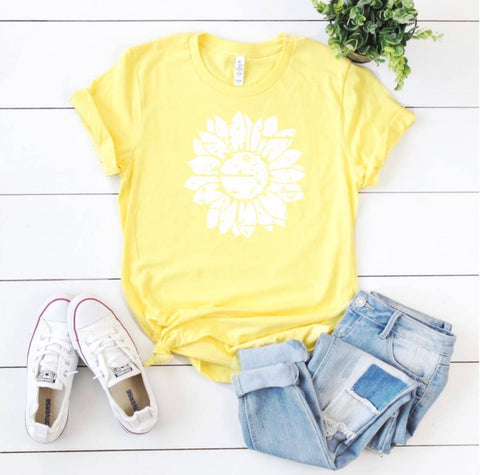 Sunny Sunflower Graphic Tee