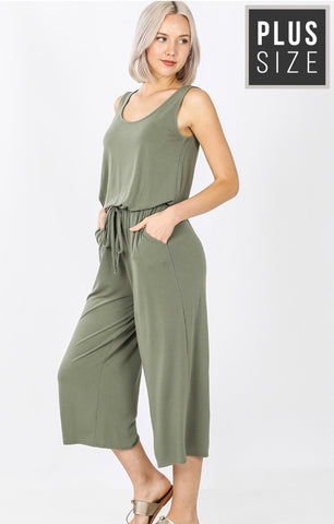 Only You Have My Heart Curvy Jumpsuit