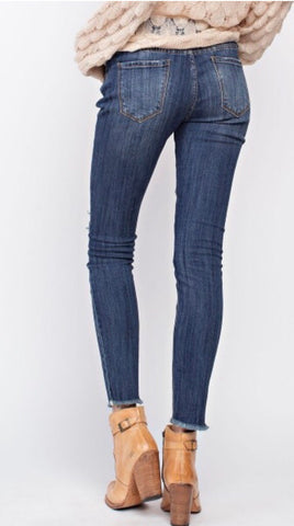 Mindy Distressed Jean