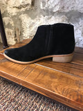 Frenchy Suede Black Ankle Boot