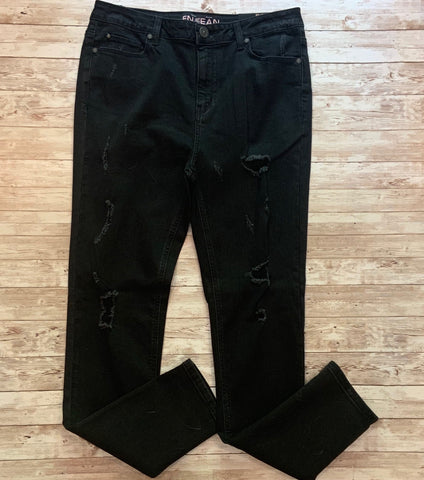 Cassie Distressed Jean