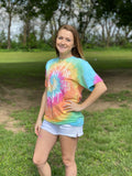 It's Too Early Tie Dye Tee