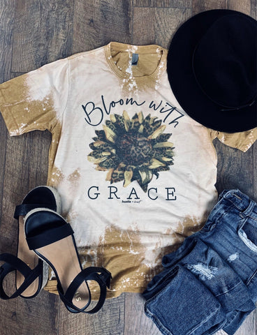 Bloom With Grace Graphic Tee