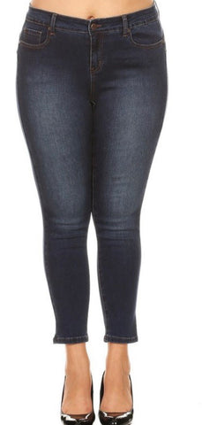 Danielle Mid Rise Ankle Skinny Jean