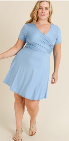 Romance My Heart Curvy Dress