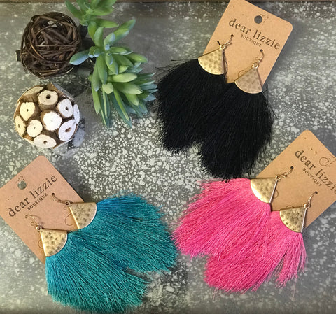 Truman Tassel Earrings
