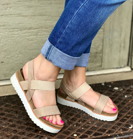 Asuma Rose Gold Sandal
