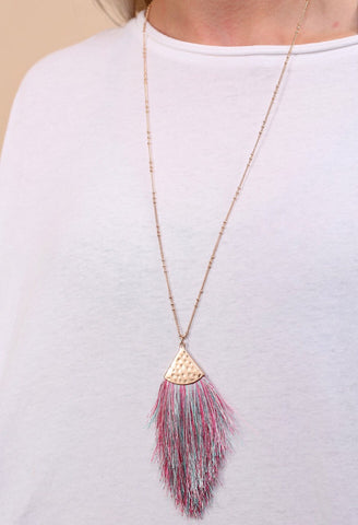 Truman Tassel Necklace