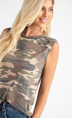 Wilderness Calls Camo Tank