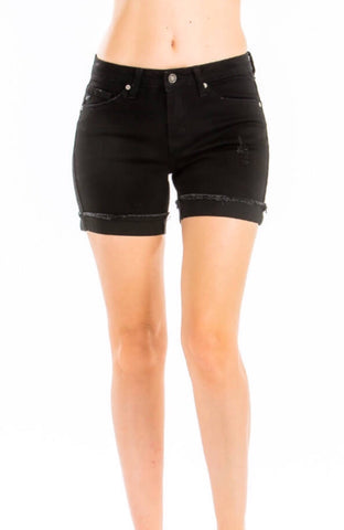 Kinley Black Denim Short