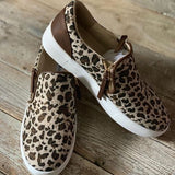 Leopard Timbre Sneakers