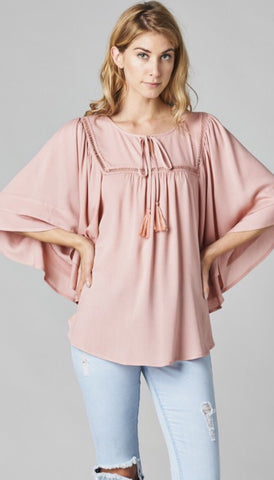 Dreaming of Forever Peasant Top