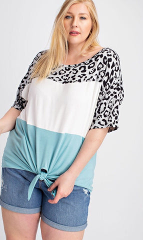 Walk On The Wild Side Curvy Top