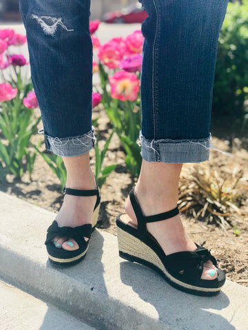Belle Espadrille Wedge
