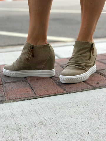 Arabelle Wedge Fashion Sneaker