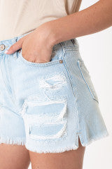 Becca High Rise Mom Shorts