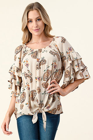Paisley Perfection Top