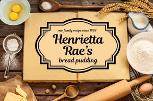 Henrietta Rae's Bread Pudding