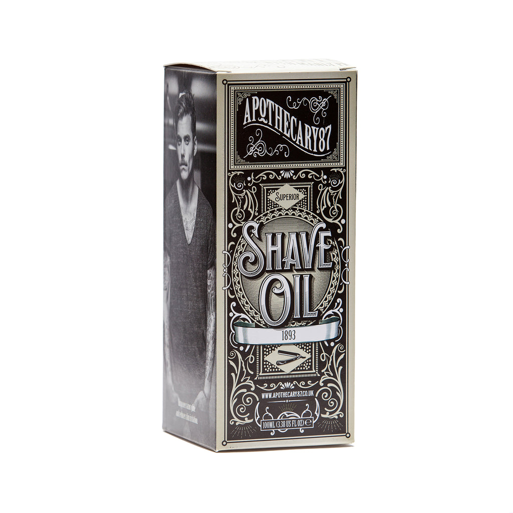 1893 Shave Oil 100ml
