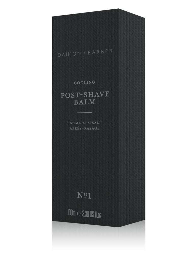 Cooling post shave balm